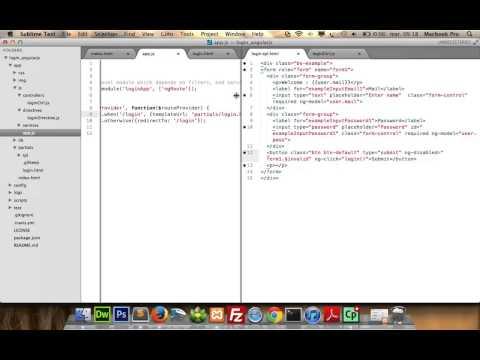 Part1: Get started Angularjs,Simple login, best practices, angularjs