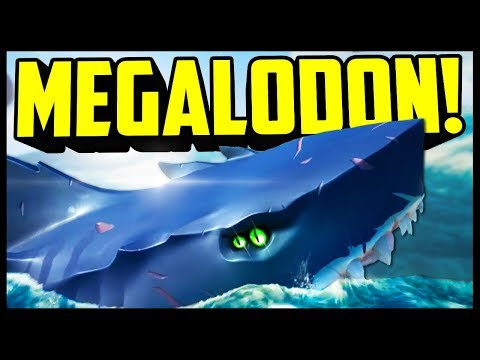 THE AMAZING MEGALODON BATTLE!   Sea Of Thieves Hungering Deep - Funny Moments Gameplay