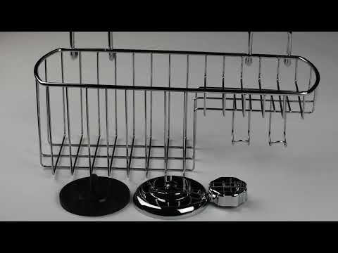 HASKO vacuum Suction Cup Shower Caddy Basket review