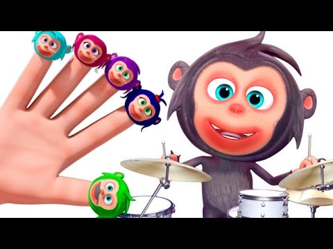 Monkey Finger Family And More | Nursery Rhymes Collection | 3D Finger Family Songs