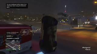 What happens when you drive too fast in GTA 5..