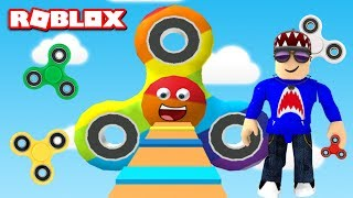 Roblox Escape the Fidget Spinner Obby with a Fidget Spinner