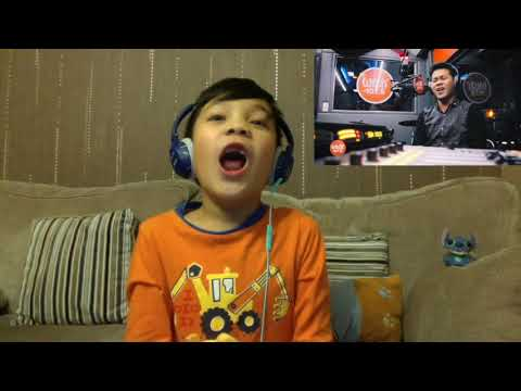 7-year-old kid reaction to Marcelito Pomoy singing The Prayer