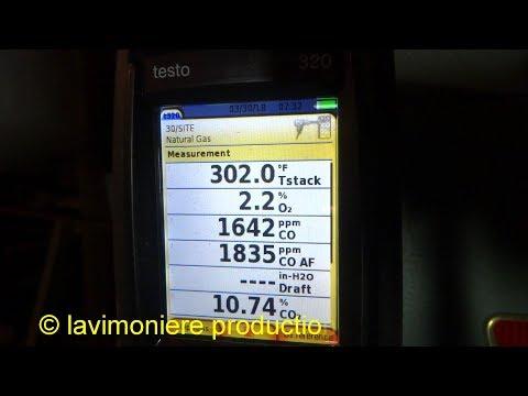 gas boiler high carbon monoxide levels