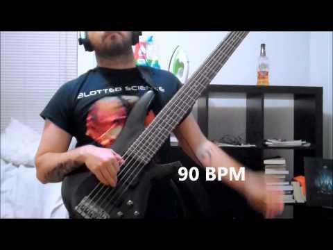 Bass Guitar Left Hand Exercise Ring and Pinky Finger Strength 60-180 BPM