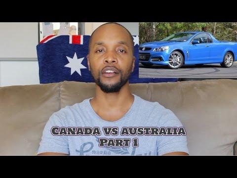 Canada vs Australia -Part 1