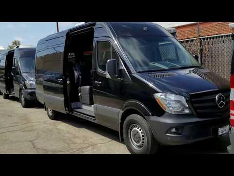 Legends Sprinter Van Rental Fleet