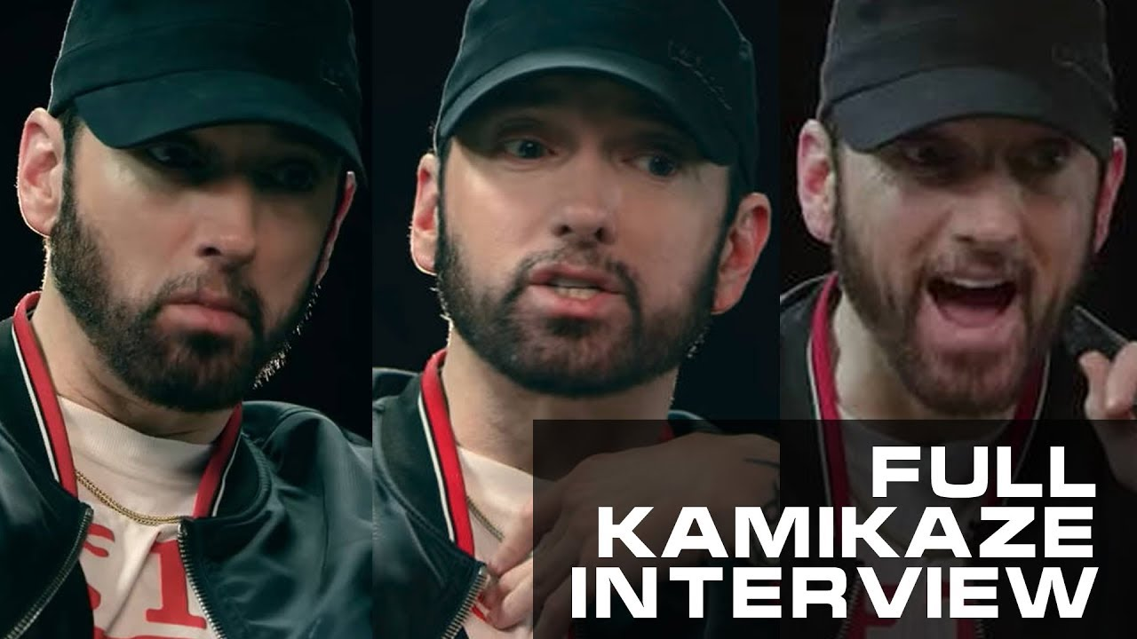 Full Interview: Eminem about Kamikaze, MGK's diss, Joe Budden, Tyler the Creator and more (2018)