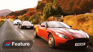 The Great British Grand Tour: Aston Martin DB11 vs Bentley Continental GT vs McLaren 570 GT