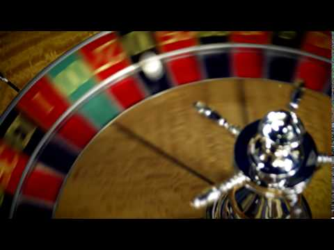 Royalty Free Stock Footage of Close up of a roulette table spinning