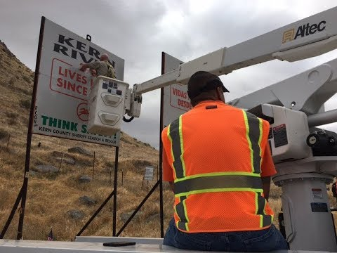 Death-toll signs updated: Another year, another grim reminder of Kern River's dangers