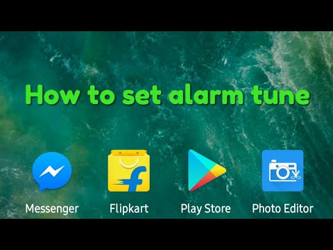 How to change alarm tune in mi note 4