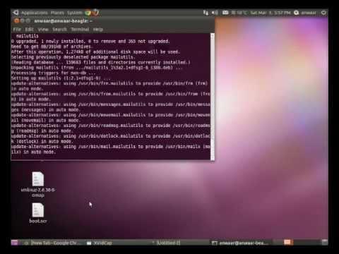 How to Configure SMTP server using SENDMAIL (VodCast) -- Ubuntu OS