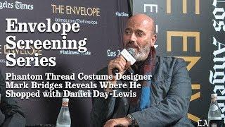 Phantom Thread Costume Designer Mark Bridges Reveals Where He Shopped with Daniel Day-Lewis | Los A