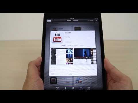 How to install apps on iPad mini