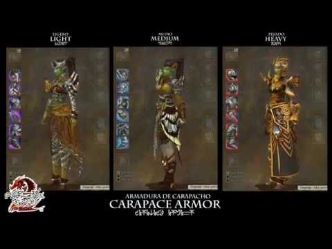 Guild Wars 2: Carapace Armor (Sylvari Female)