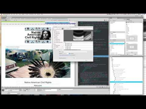 Adobe Dreamweaver CC - Place banner photo in slideshow