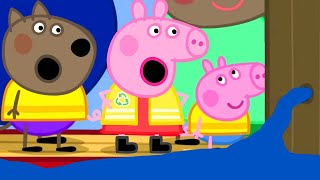 Peppa Pig Official Channel | Peppa Pig's Trip on a Canal Boat