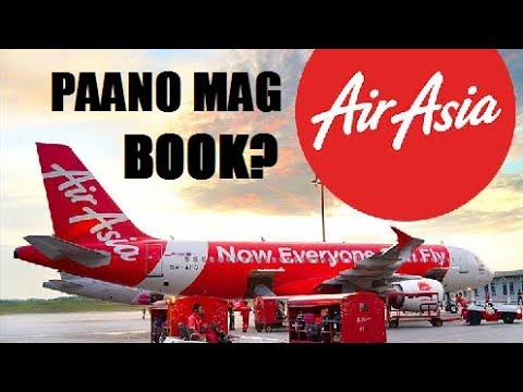 How to Book Ticket in AirAsia Airline Online