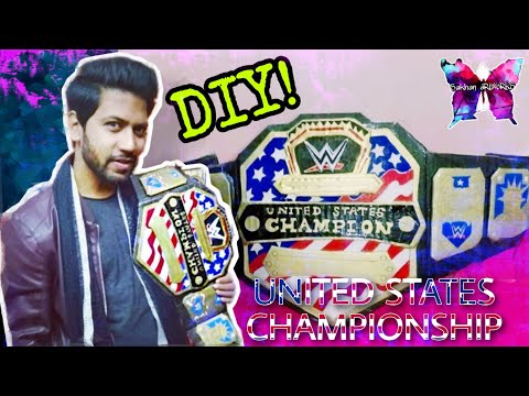 How To Make Wwe United States Championship