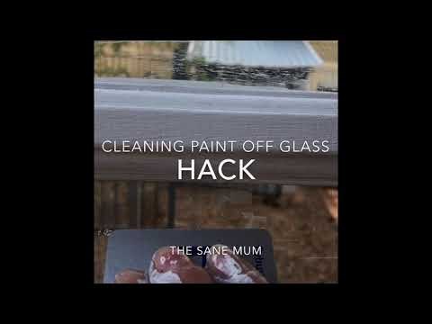 HACK: removing paint off glass