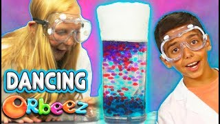 Make Orbeez DANCE - Orbeez Science You Can Do At Home! | Official Orbeez