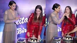 Ankita Lokhande Birthday Celebrations with Kangana Ranaut & Manikarnika Team