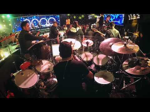 Drum Cam //  Ray BG // Los Cuatro finalistas // Luis Espinoza Drummer
