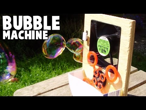 Simple Homemade Bubble Machine
