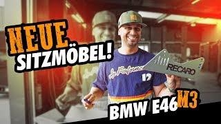 JP Performance - Neue Sitzmöbel!   BMW E46 M3