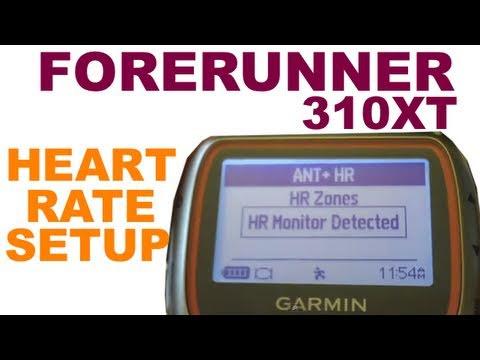 Garmin Forerunner 310 XT - Pairing Your Heart Rate Monitor