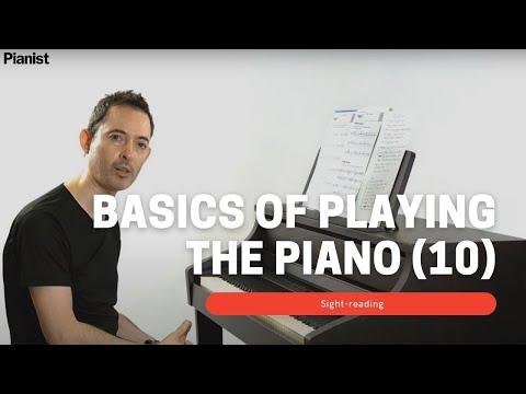Basics of Playing Piano: Sight-Reading (10)