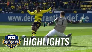 Borussia Dortmund vs. Hannover 96 | 2017-18 Bundesliga Highlights