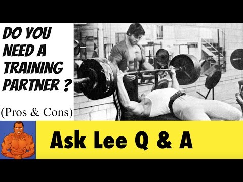 Pros & Cons of working out with a Training Partner