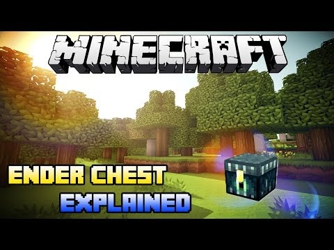 Minecraft PS3 - Ender Chest Explained (How use the Ender Chest Minecraft PS4 and Xbox One)
