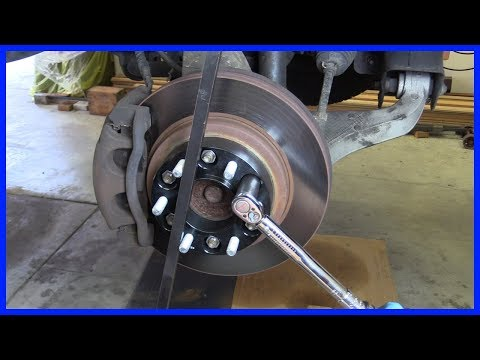 How to Install Wheel Spacers on Your Truck or Jeep! One simple trick!