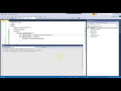 IS303 JavaScript GetInput and External File