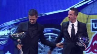 2016 FIA Prize Giving – FIA World Rally Champions - Sébastien Ogier and Julien Ingrassia