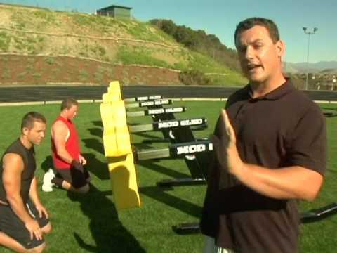 Hands, Hips, Rip & Run Football Drills