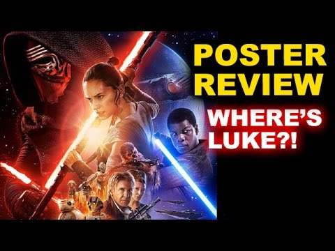 Star Wars The Force Awakens OFFICIAL Final Poster REVIEW - Where's Luke? - Beyond The Trailer