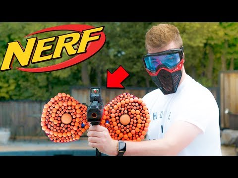 NERF WAR: BANNED NERF GUN MOD 🔥