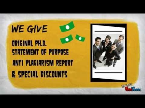 Statement of Purpose PhD