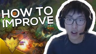 """Doublelift - HOW TO TRADE & CS BETTER AS ADC! - """"TOO MUCH DAMAGE!"""" - League of Legends Highlights"""