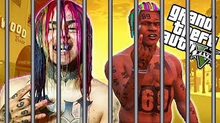 BREAKING 6IX9INE OUT OF PRISON MOD (GTA 5 PC MODS GAMEPLAY)