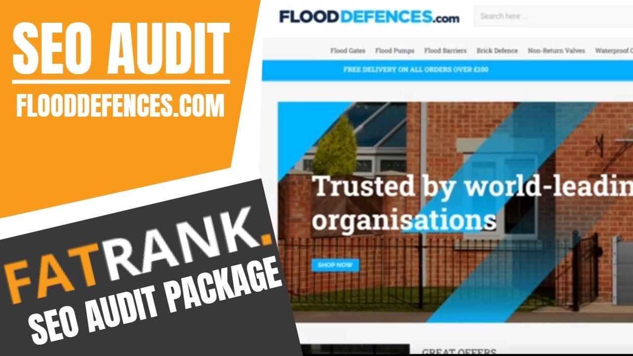 FloodDefences.com SEO Audit | Ways To Improve Your Websites Ranking