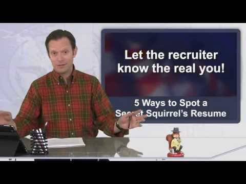 Getting Intelligence Jobs: 5 Ways to Spot a Secret Squirrel's Resume