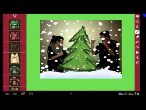 Kringle Me - An Ugly Christmas Sweater photo app!