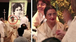 Emotional Rekha And Others Breaks Down At Shashi Kapoor
