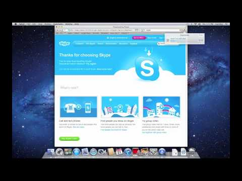 Downloading and Installing Skype For Mac