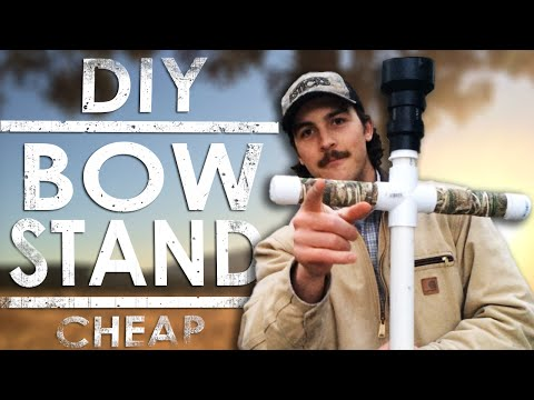 PVC Bow Stand : DIY Homemade | The Sticks Outfitter | EP. 15